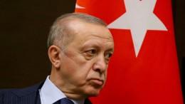 Erdogan droht westlichen Botschaftern mit Ausweisung
