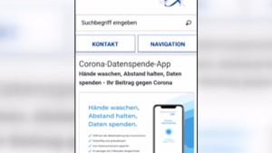 "Neue ""Datenspende-App"""