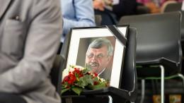 Ermordeter Lübcke soll Hessens höchste Auszeichnung erhalten