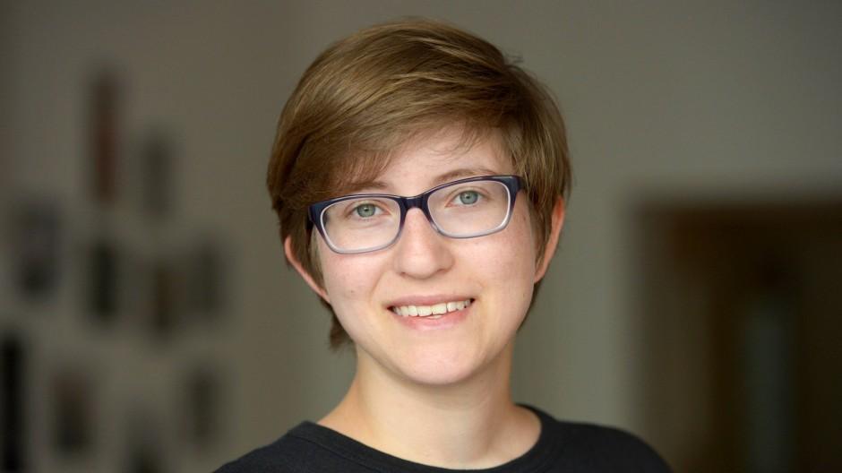 Anwältin verkürzter Schutzfristen: Julia Reda, Berichterstatterin des Parlaments