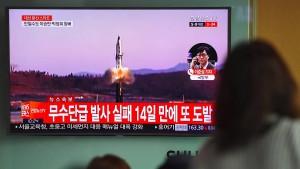 Nordkorea testet wieder ballistische Rakete