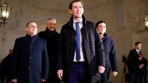 ÖVP und Grüne einigen sich auf Koalition