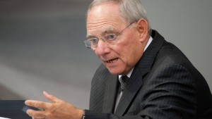 """Schäuble spricht von """"Horrormeldungen"""""""