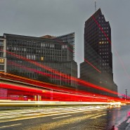 Verkehr am Leipziger Platz in Berlin