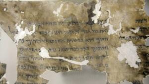 Bibel-Schriftrollen werden zum Politikum