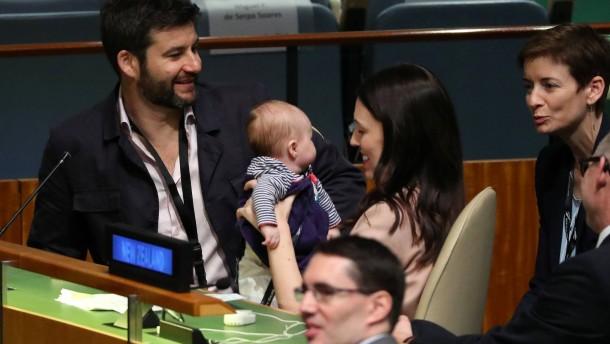 Mit Baby zur UN-Vollversammlung