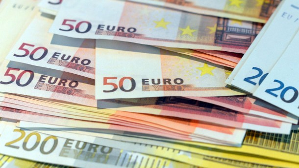 50-Euro-Scheine sind am häufigsten gefälscht