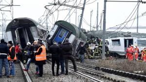 Drei Tote bei Bahnunglück nahe Mailand