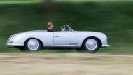 Ein Porsche 356 - das erste Serienmodell wurde von 1948 bis 1965 gebaut, Abgasnormen waren damals noch kein Thema