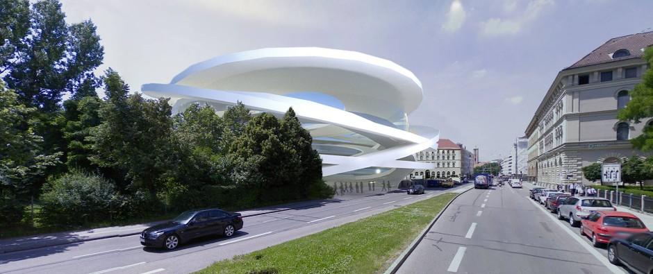 Konzept für ein neues Odeon-Konzerthaus in München