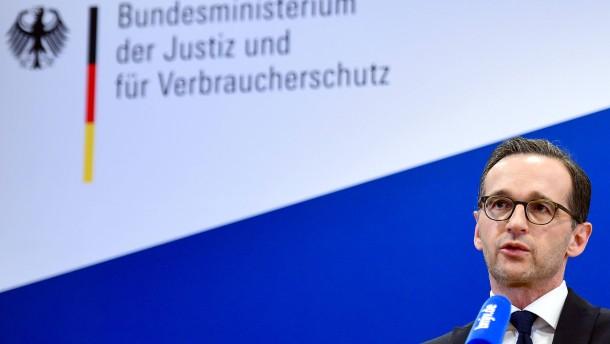 Maas: Neue Form organisierter Kriminalität