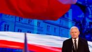 Experten kritisieren die Familienpolitik seiner Partei: Jaroslaw Kaczynski, Chef der regierenden PiS-Partei