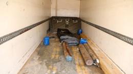 Migranten sterben in Lastwagen-Container