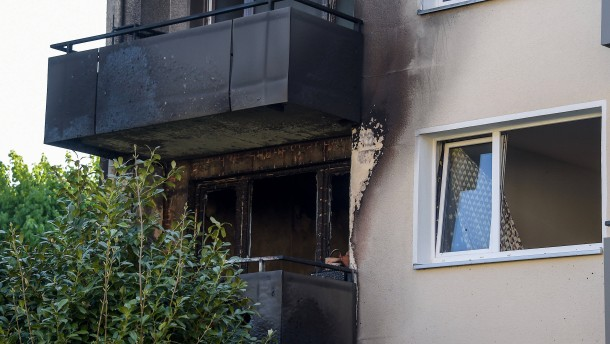Ein Toter nach Wohnungsbrand in Hamburg