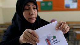 Libanesen wählen neues Parlament