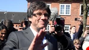 Puigdemont aus Gefängnis entlassen