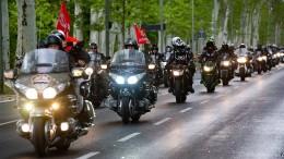 Mit Motorrädern von Moskau nach Berlin