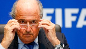 Blatter hält an Russland fest