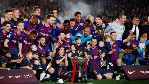 Messi macht Meisterschaft perfekt