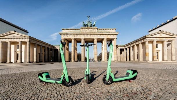 E-Scooter-Anbieter Bolt startet in neun deutschen Städten