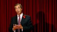 """Ukip-Chef Nigel Farage: """"Die Allierten hätten ihren Vormarsch fortsetzen sollen"""""""