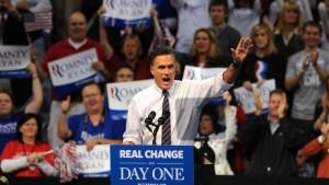 Ein erstes Patt zwischen Obama und Romney