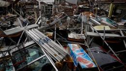 "Hurrikan ""Maria"" hinterlässt Zerstörung in Puerto Rico"