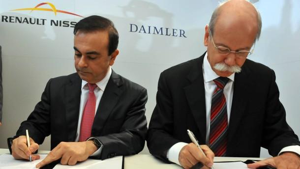 Renault will über Nacht Daimler-Aktienpaket verkaufen