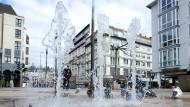 Die Brunnensaison in Wiesbaden ist eröffnet