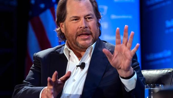 Die Extravaganzen von Salesforce-Gründer Marc Benioff