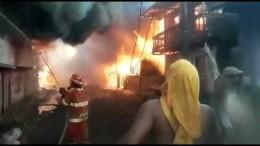 Großbrand zerstört Häuser