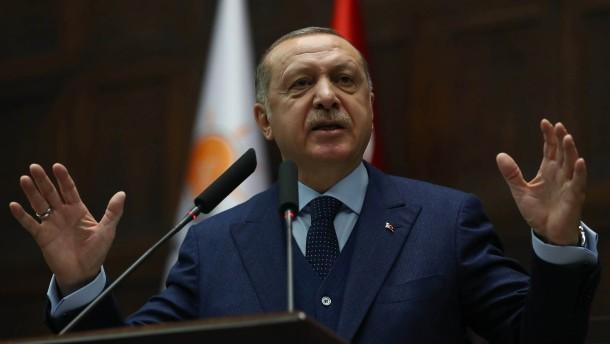Türkei nimmt Kritiker an Afrin-Offensive fest