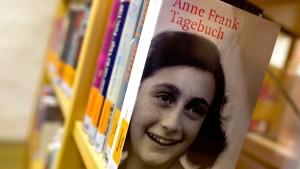 Streit ums Tagebuch der Anne Frank