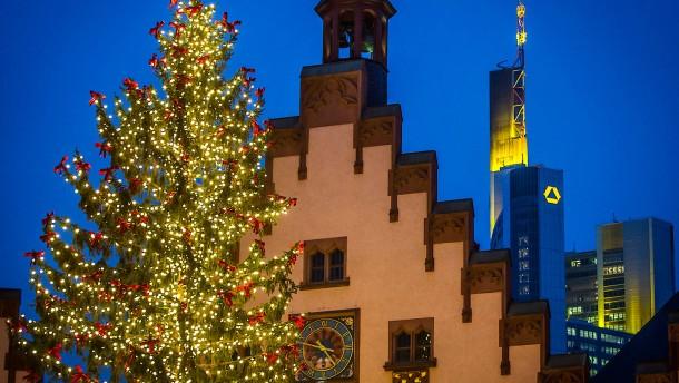 Frankfurter Weihnachtsmarkt wird heute feierlich eröffnet