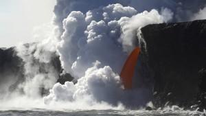 Dampfbad auf Hawaii