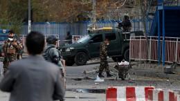 Explosion in Kabul nahe einer Schule