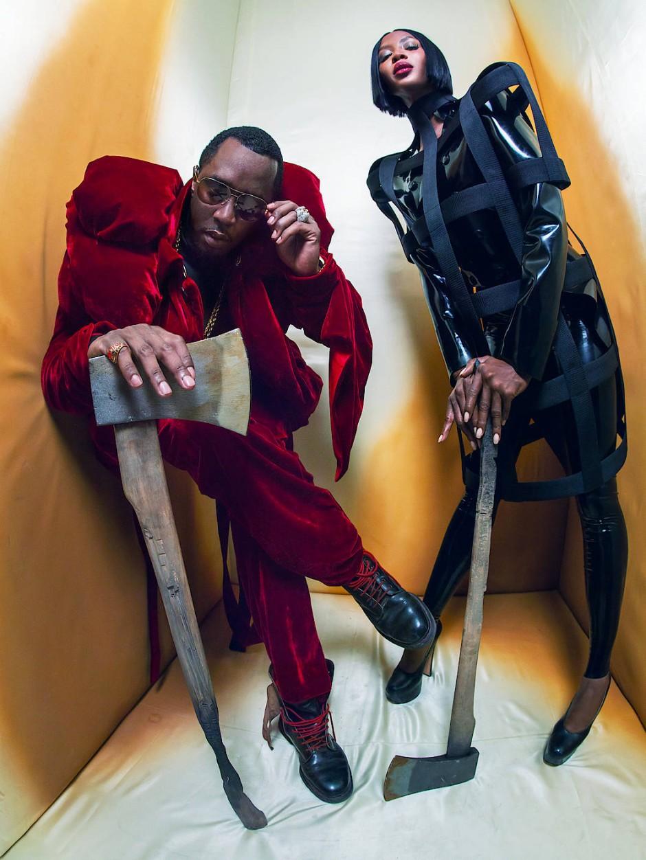 """Im wörtlichen Sinne fantastisch: Naomi Campbell und Sean """"Diddy"""" Combs"""