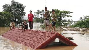 Wurde beim Bau des Staudammes geschlampt?