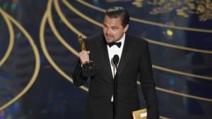 Leonardo DiCaprio triumphiert im sechsten Anlauf