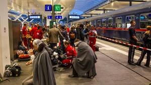 Mehr als 50 Verletzte bei Unfall am Salzburger Hauptbahnhof