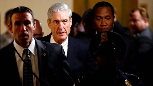 Ist Muellers Arbeit getan?
