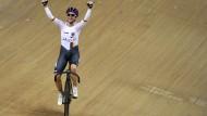 Weltmeisterin: Stephanie Pohl jubelt zurecht