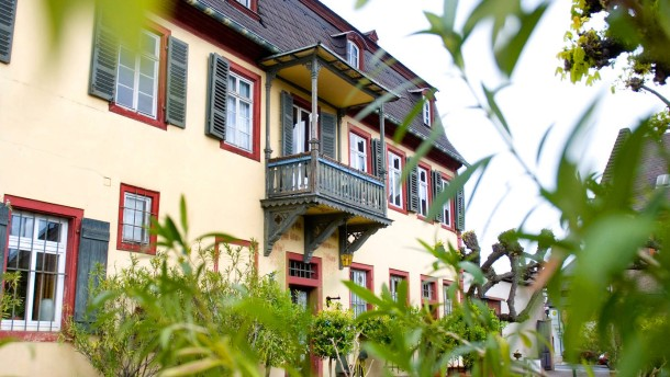 Das Brentanohaus in Winkel - Es war einst Treffpunkt der Romantiker und ist eine Station im Zuge der Veranstaltungsreihe Via Brentano