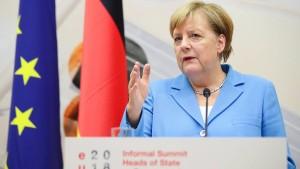 Merkel spricht ein deutliches Machtwort