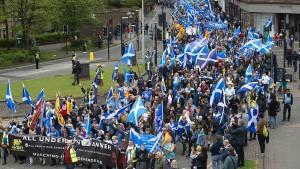 Der Ruf nach Unabhängigkeit schallt wieder durch Glasgow