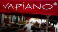 Eine Vapiano-Filiale in Hanau