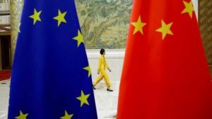 2020 deutlich weniger chinesische Investitionen in Europa