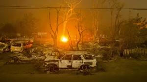 Mutmaßlicher Brandstifter in Kalifornien verhaftet