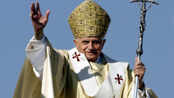 Vom Professor zum Papst