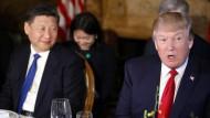 Gespräche von Trump und Xi über Handel und Nordkorea